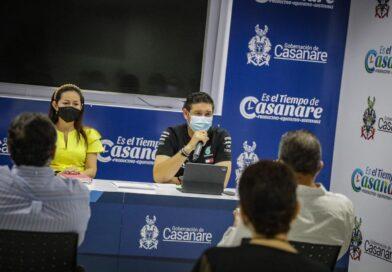 Gobernador Sanabria atendió inquietud de Periodistas casanareños