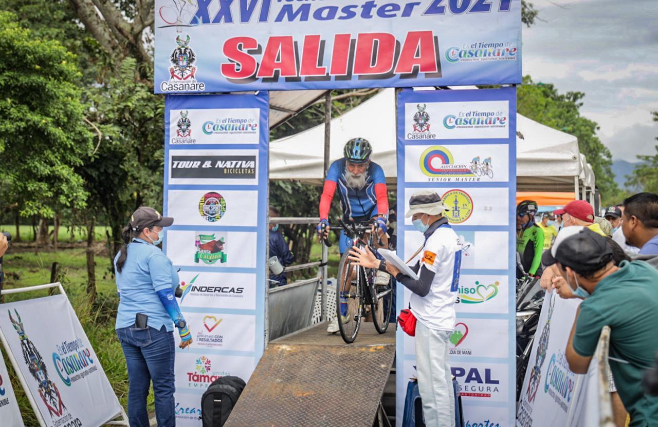 Sin contratiempos se llevó a cabo la Contrarreloj en la Vuelta Colombia Master