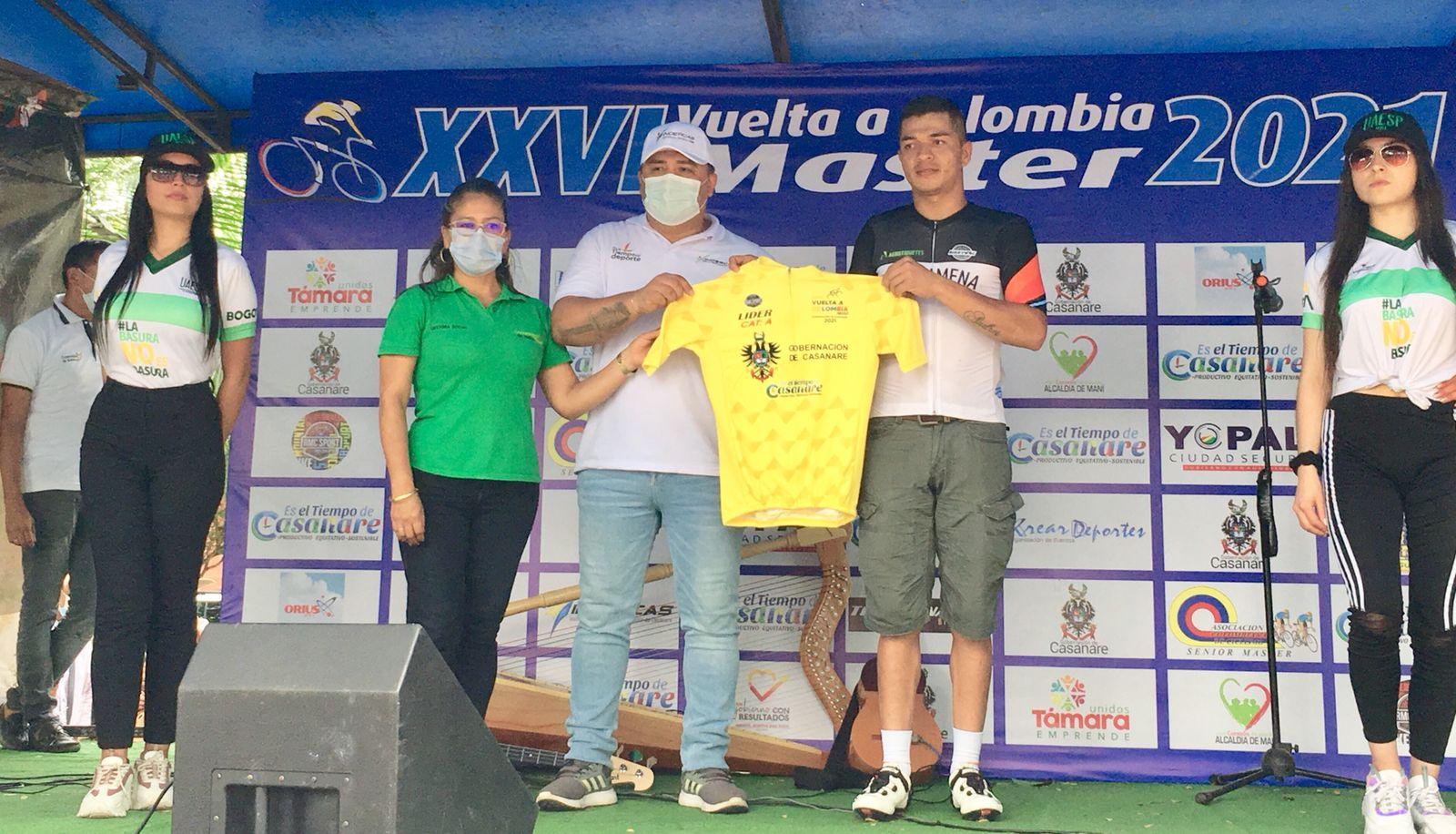 Valencia ganó la primera etapa en la Vuelta Colombia Máster (Resultados)